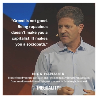 No Such Thing as Good Greed